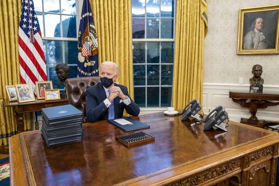 President Joe Biden Signs First Executive Orders