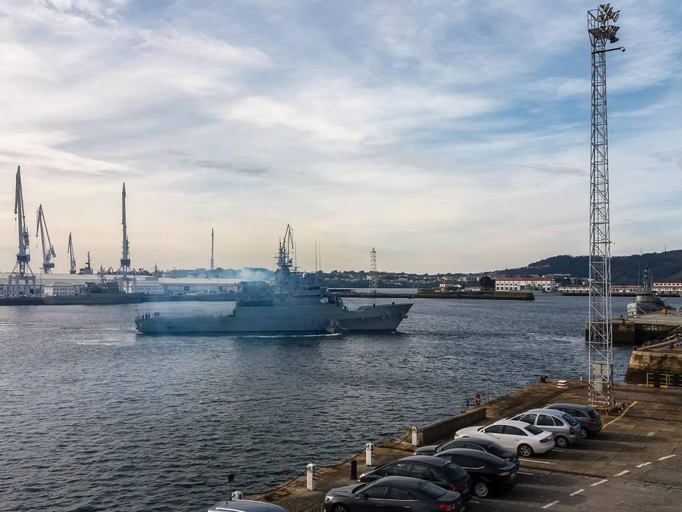 Salida del MSO Centinela. FOTO: Armada
