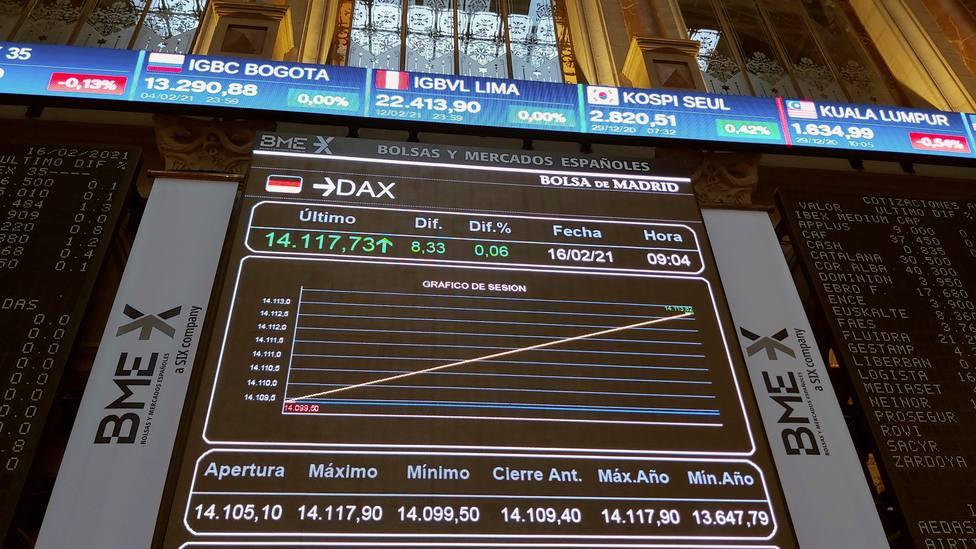 El Ibex se frena pese a los máximos históricos Wall Street, mientras el Bitcoin suma y sigue