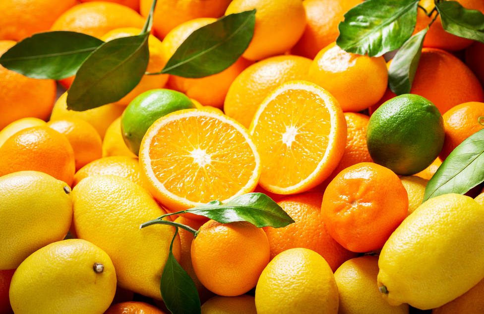 Mix,Of,Fresh,Fruits,As,Background,,Top,View