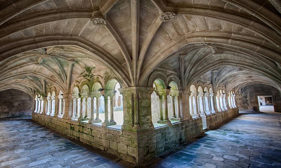 Fotografía del monasterio de Santo Estevo de Ribas de Sil. FOTO: Afundación
