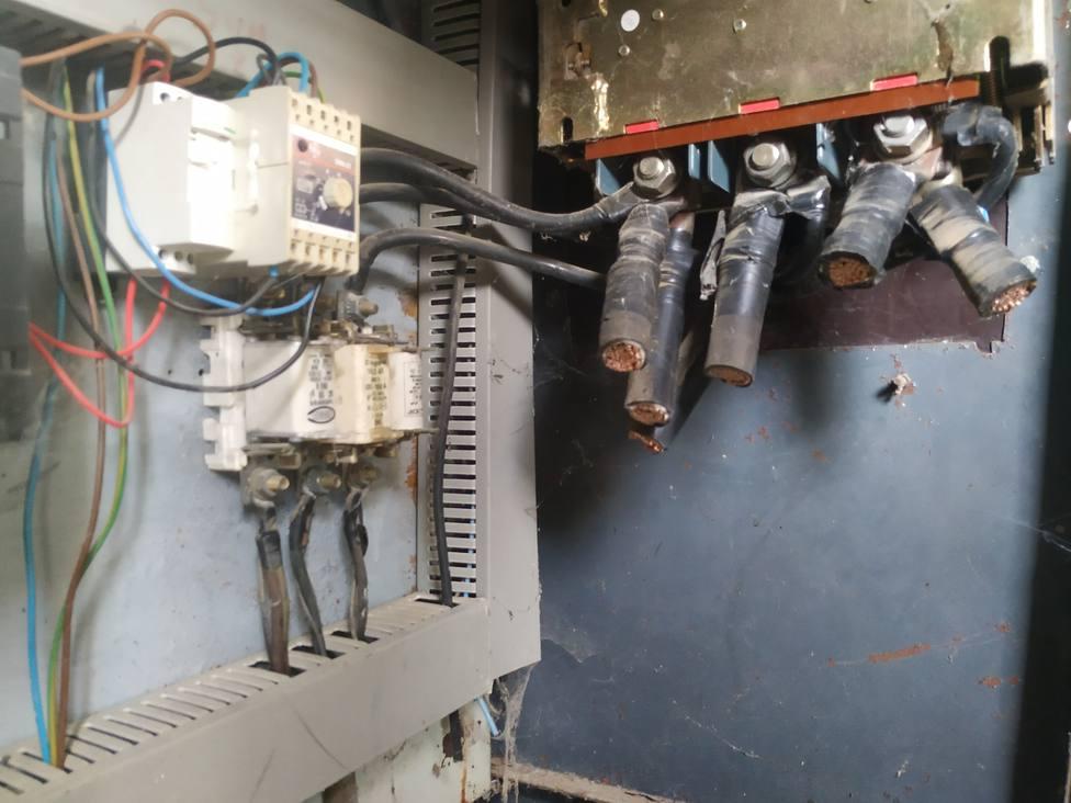 Robo de transformador eléctrico en Mahora