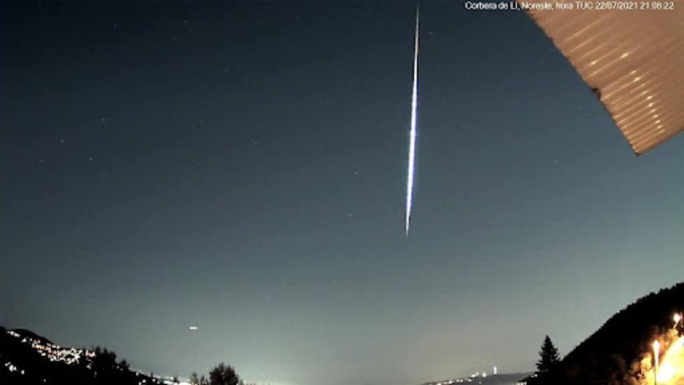 Una espectacular bola de fuego sobrevuela Castilla-La Mancha: No había visto nada igual