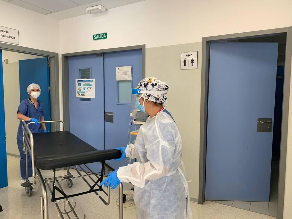 El Clínico atiende diariamente a un centenar de pacientes con síntomas compatibles con COVID-19