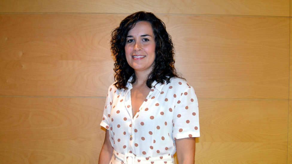 Gema García, alcaldesa de Calzada de Calatrava