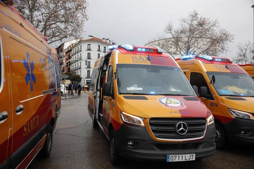 Trasladado grave al hospital un menor con heridas de arma blanca en el distrito La Latina (Madrid)