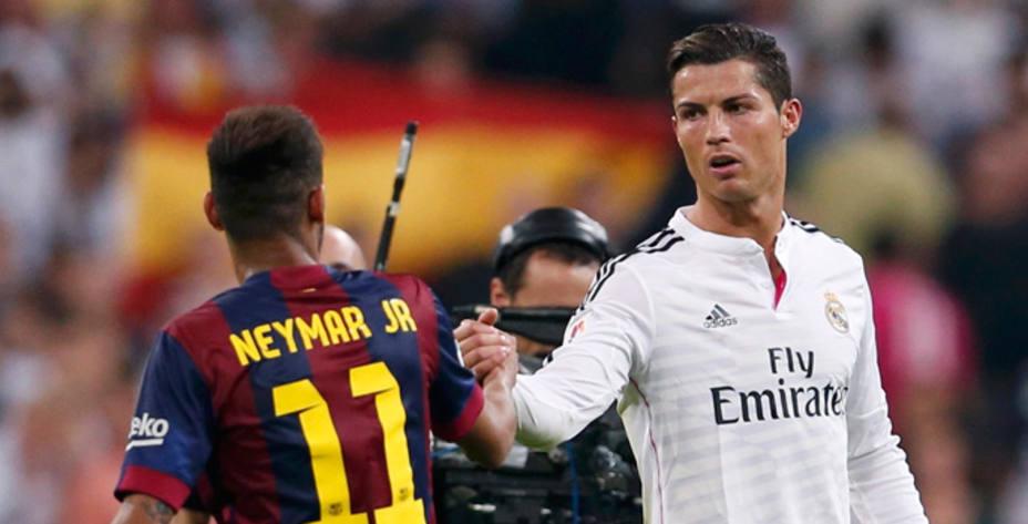 Neymar y Cristiano, durante un Madrid-Barça de la temporada pasada (Reuters)