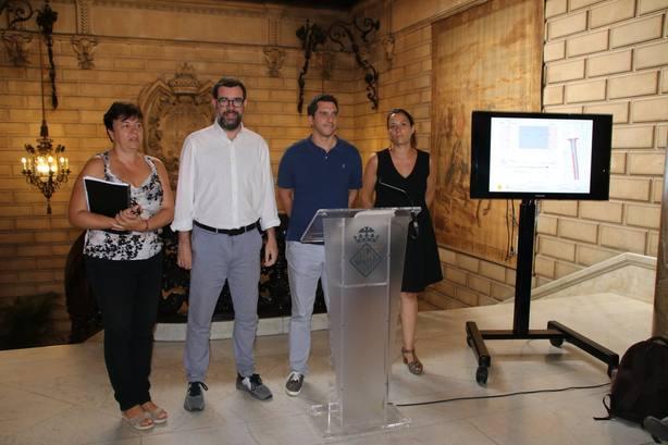 El Ayuntamiento de Palma arreglará el pavimento de segunda línea de Playa de Palma antes de Semana Santa
