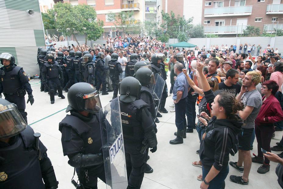 Interior enviará 600 antidisturbios a Cataluña por la Diada y el 1-O
