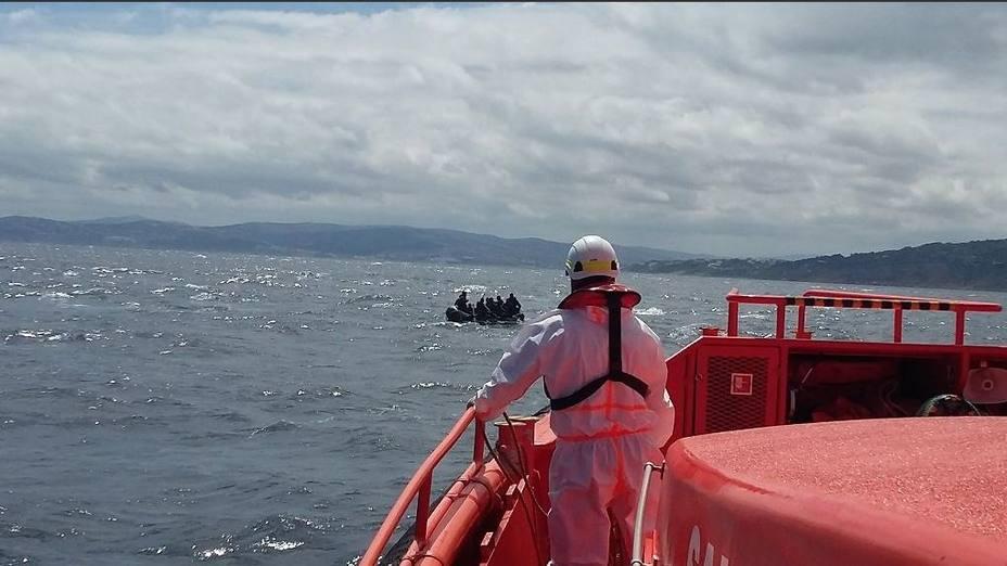 Mueren 17 migrantes en las costas de Melilla y Cádiz