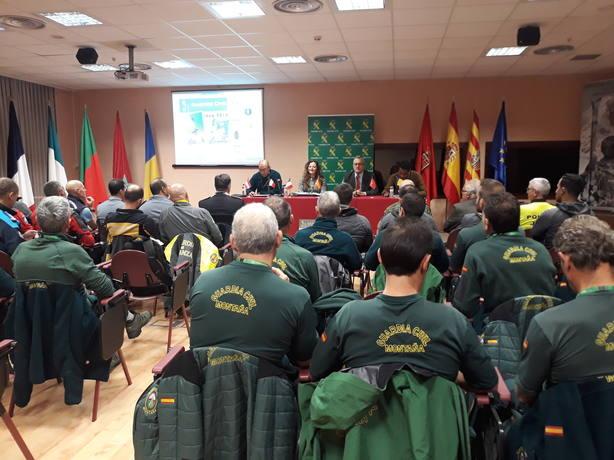 Congreso de Gendarmerías especializadas en Jaca