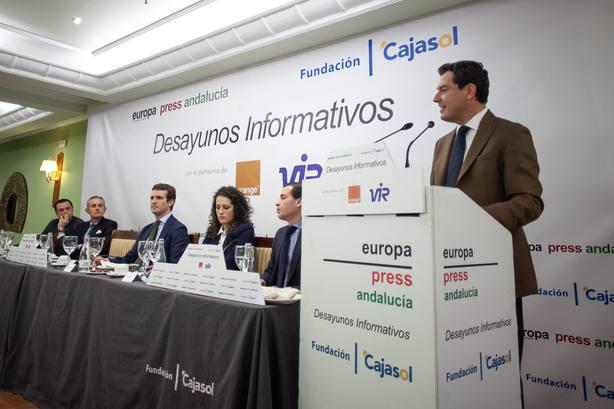 Juanma Moreno asegura que Jaén tiene un futuro muy esperanzador de la mano del PP