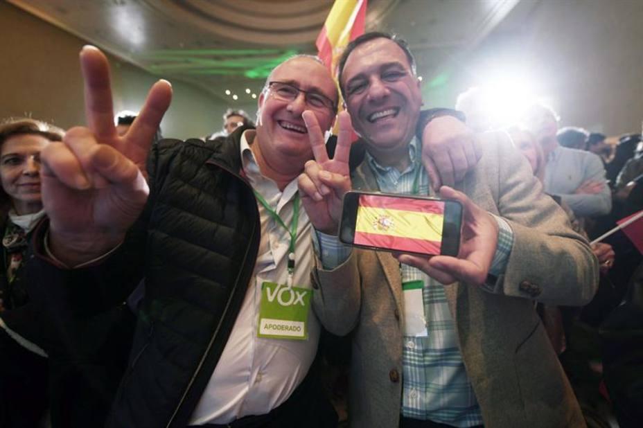 Así son los diputados electos de Vox en Andalucía