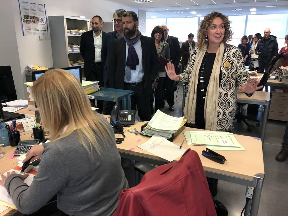 La consellera Capella descarta que jueces y fiscales estén en una situación de riesgo en Cataluña