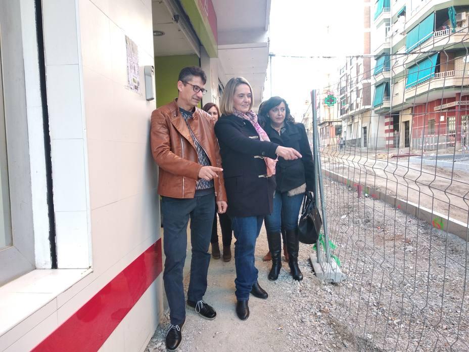 Visita Calle SAn Marcos PP