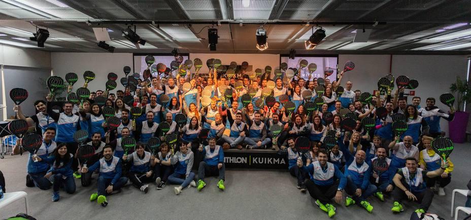 Decathlon presenta Kuikma, su nueva marca especializada en pádel