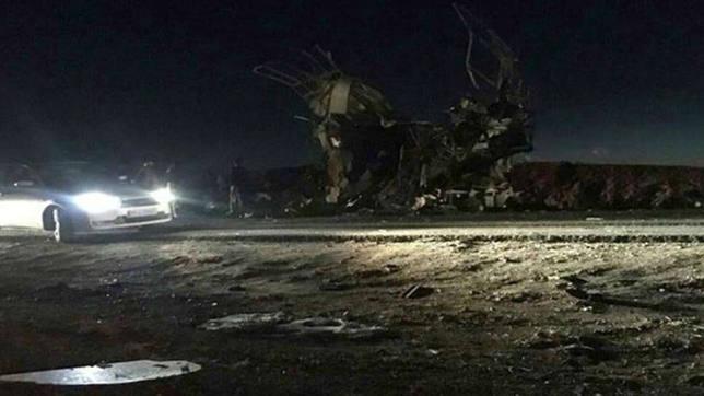 Al menos 20 muertos en Irán en un atentado contra un autobús