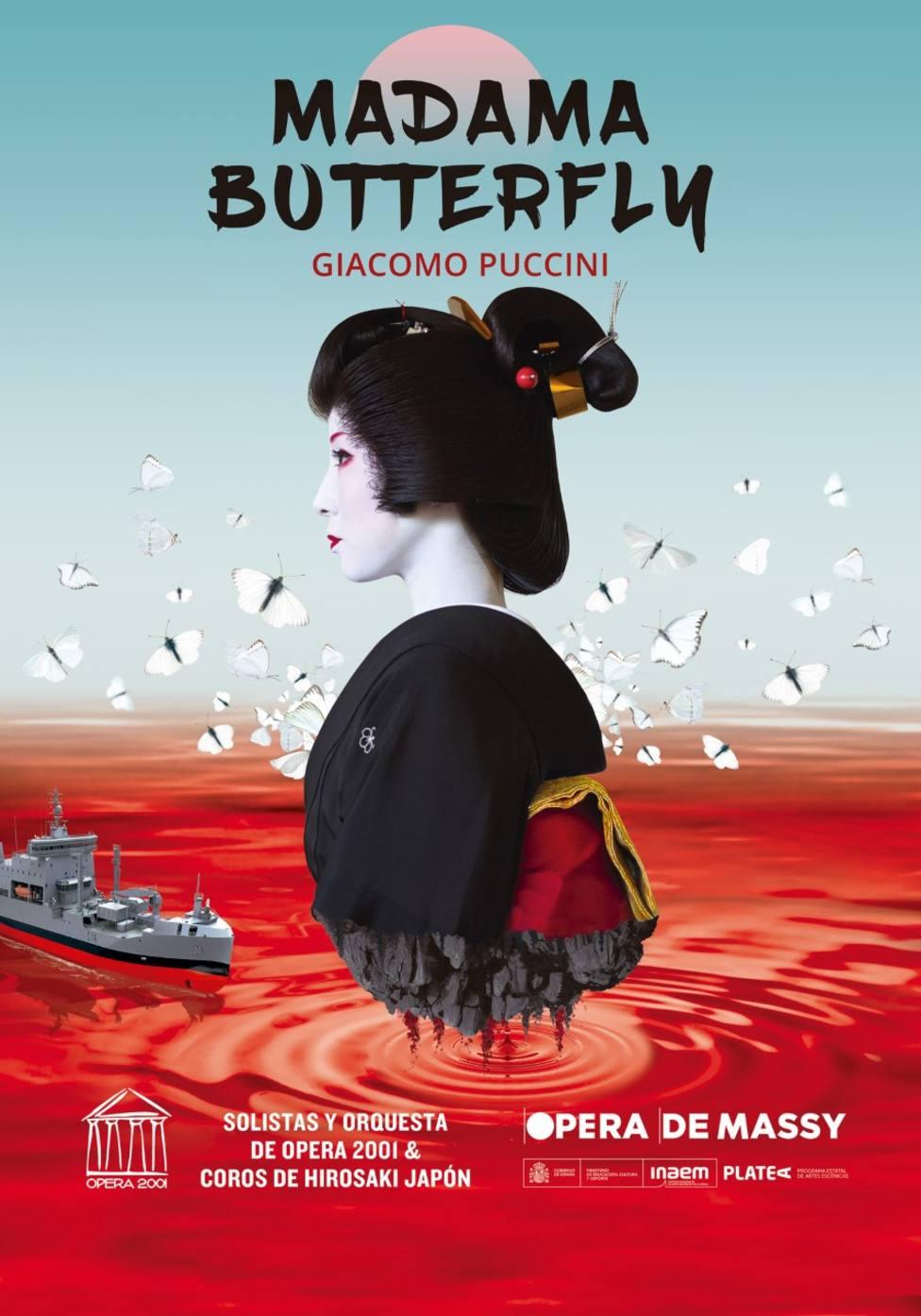 Cartel Madama Butterfly
