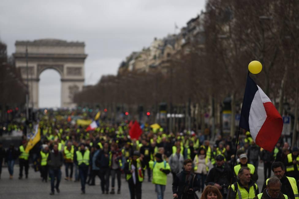 El ministro del Interior pide al nuevo jefe de la Policía de París impunidad cero con los chalecos amarillos