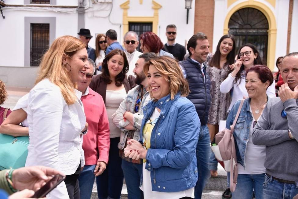 Susana Díaz avisa de que la Junta, a la primera de cambio, intentará eliminar gratuidad de matrículas universitarias