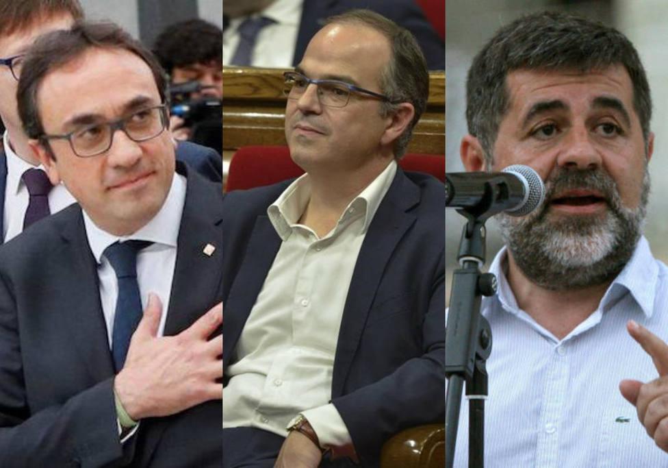 Sànchez, Rull y Turull renuncian al escaño del Parlament para ir al Congreso
