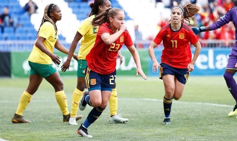Crónica del España - Camerún, 4-0