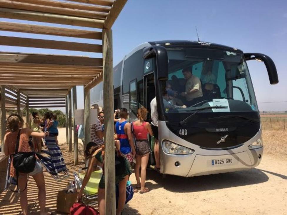 El día 22 se pone en marcha el control de acceso diario de vehículos a Calblanque