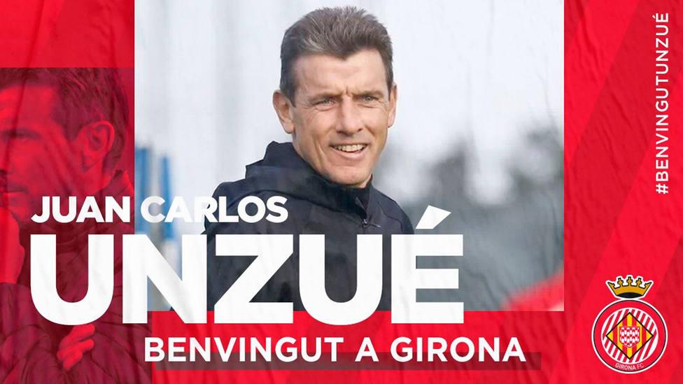 Unzué, nuevo entrenador del Girona (@GironaFC)