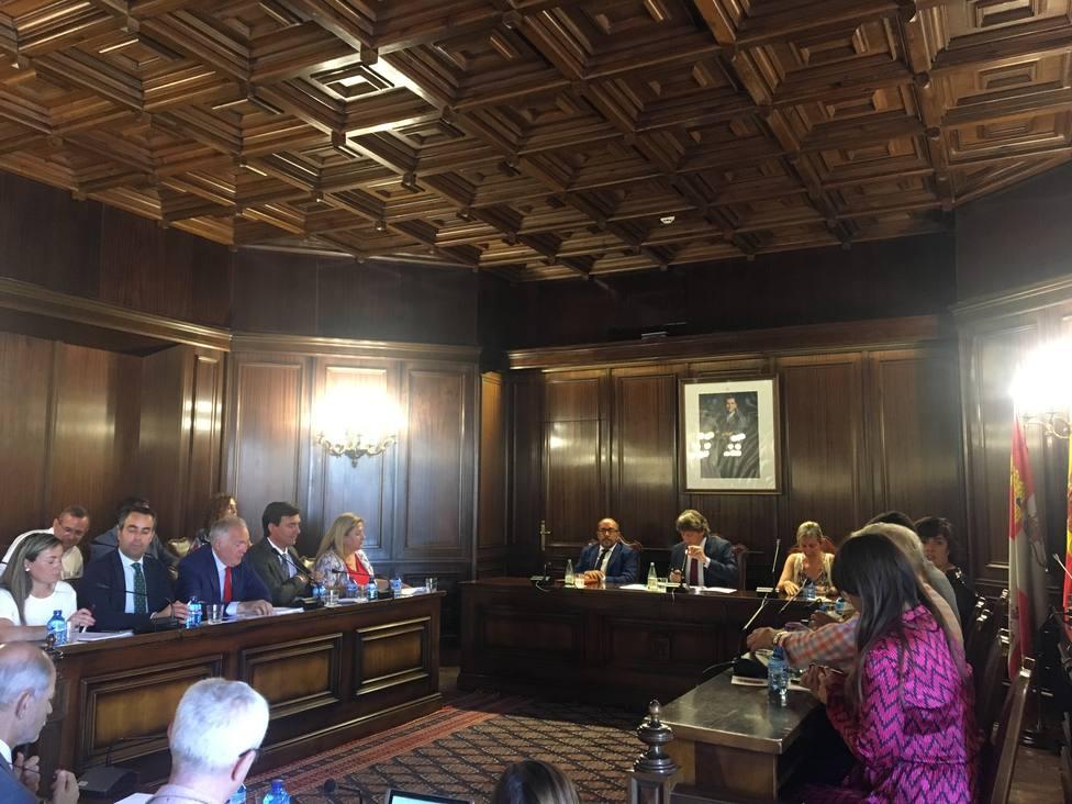 Pleno extraordinario y urgente para la constitución de las comisiones del Ayuntamiento de Soria