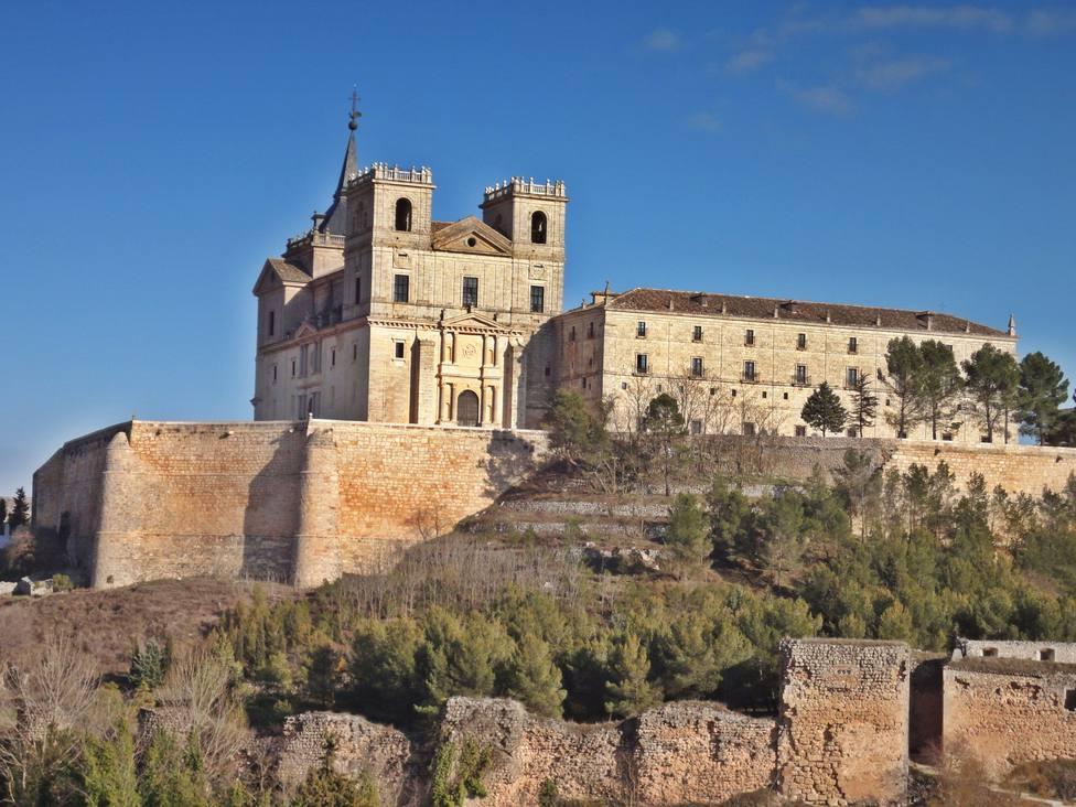 Uclés, un pueblo de cine en medio en plena provincia de Cuenca