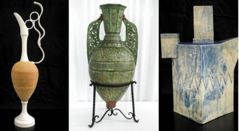 Obras premiadas en el Concurso Internacional de Alfarería y Cerámica de La Rambla