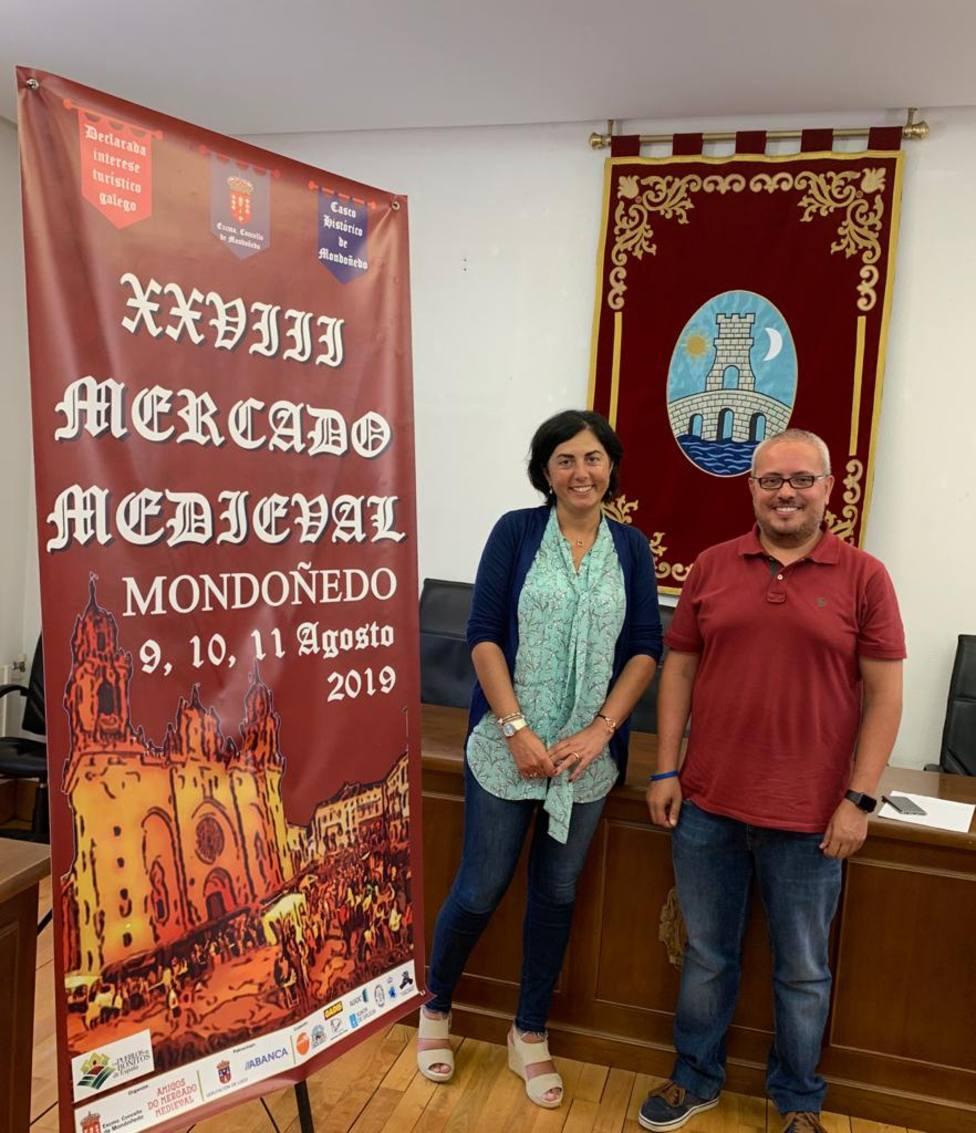 El XXVIII Mercado Medieval de Mondoñedo comenzará este viernes