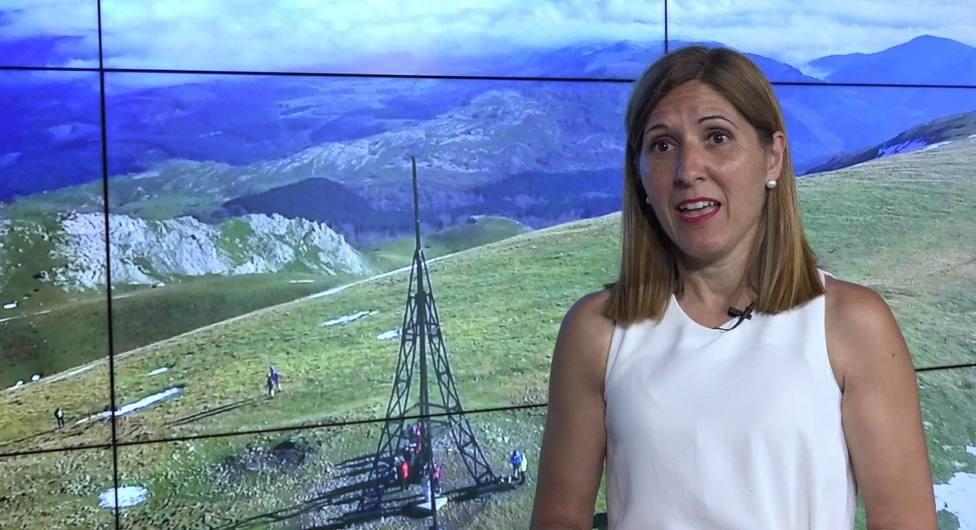 Elena Unzueta, diputada vizcaína de medio ambiente