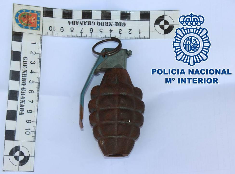 granada de mano