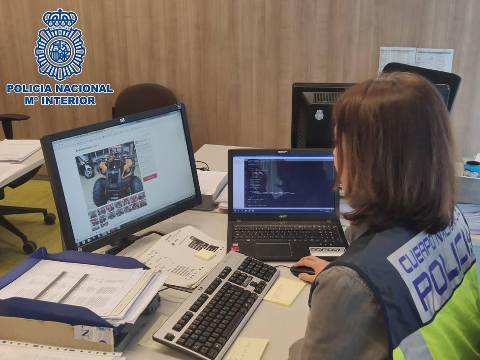 La Policía identifica a una mujer en Cádiz por estafar 1800 euros a un Logroñés a través de una web