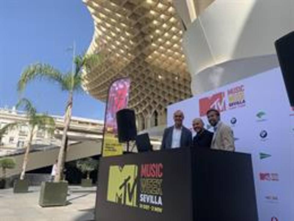 Presentacion de la MTV Music Week
