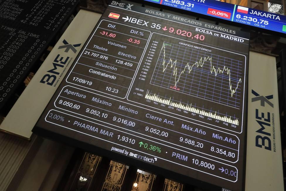La Bolsa se duele tras la aparición de nuevos síntomas de enfriamiento económico en Europa