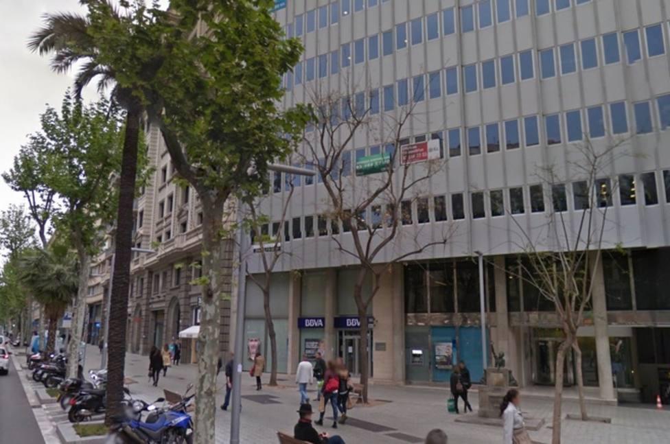 Fachada del consulado de Uruguay en Barcelona