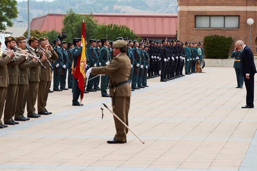 La Guardia Civil subraya que seguirá en Cataluña para combatir el terror