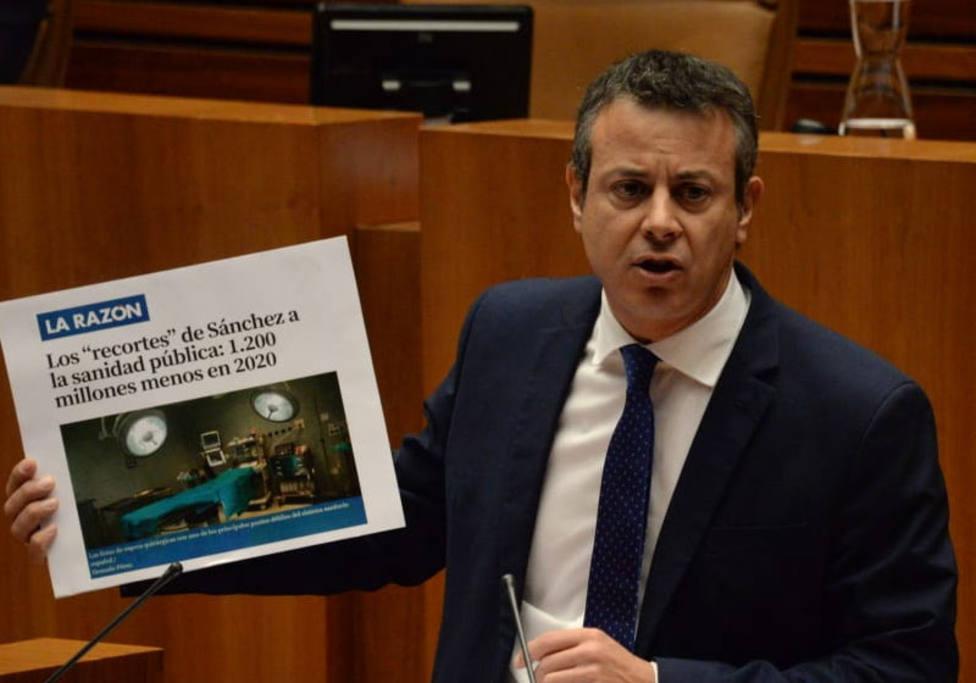 """Izquierdo (Cs): """"Los únicos recortes que va a haber en la Sanidad son los de Pedro Sánchez"""""""