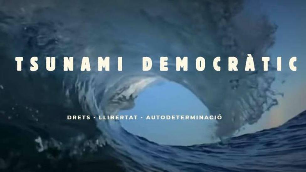 El misterioso mensaje de Tsunami Democràtic sobre el Barça-Madrid que suena a amenaza