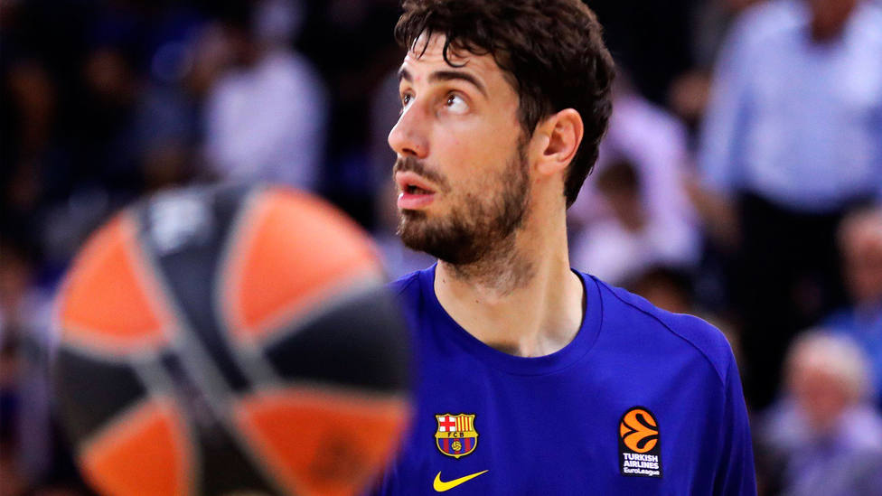 Ante Tomic, jugador del Barça. CORDONPRESS