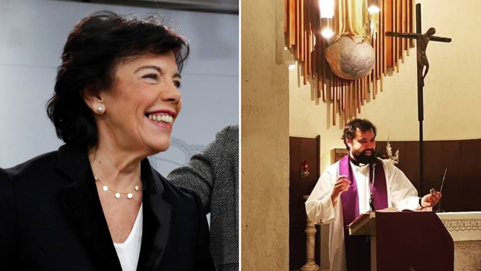 La carta viral de un sacerdote a Isabel Celaá sobre la educación