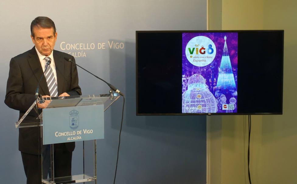 Abel Caballero presenta la Navidad de Vigo 2019