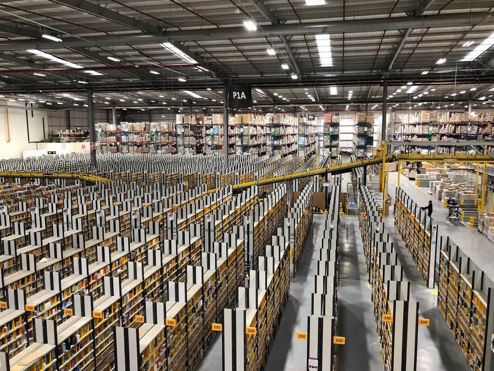 Centro logístico de Amazon en Sevilla