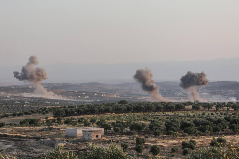 Alemania, Francia, Reino Unido y Turquía reclaman el fin de los ataques contra civiles en Siria