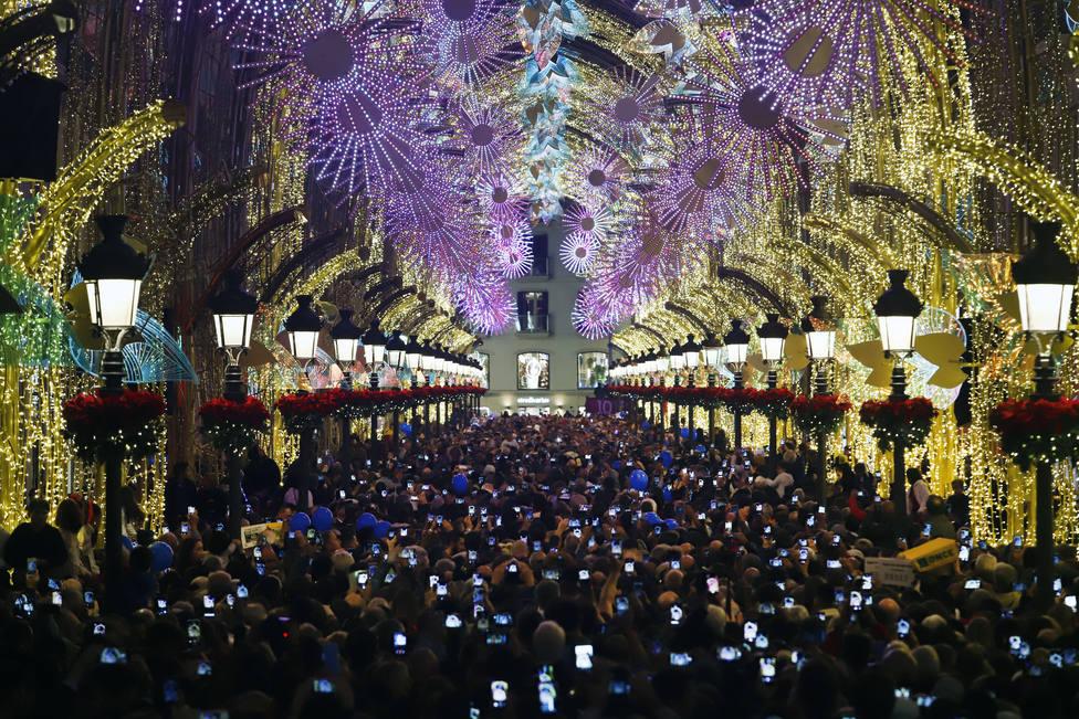 Mariah Carey agradece a Málaga que All I want for Christmas is you amenice la iluminación de Navidad