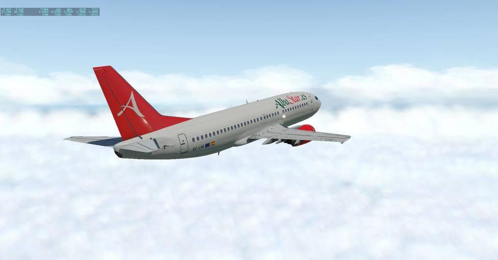 Un chárter con 189 pasajeros que llegaba a Logroño tiene que hacer tiempo en el aire porque no había nadie