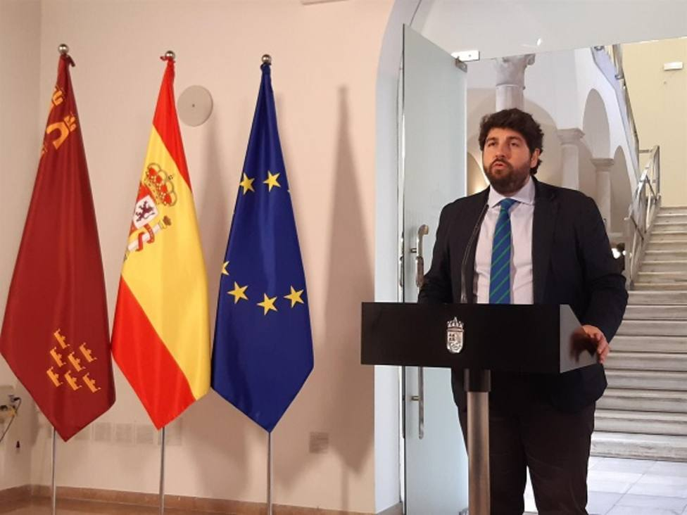 López Miras pedirá una reunión con Sánchez por cada cita que éste mantenga con Torra