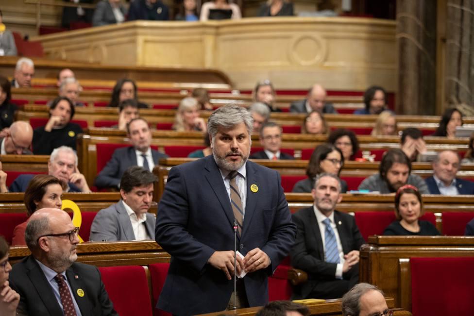 JxCat no participará en las votaciones del pleno al no poder votar Torra